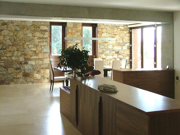 Diseño Interior para Vivienda Unifamiliar Paredes