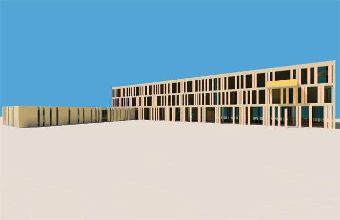 Edificio destinado para Nuevo Concello